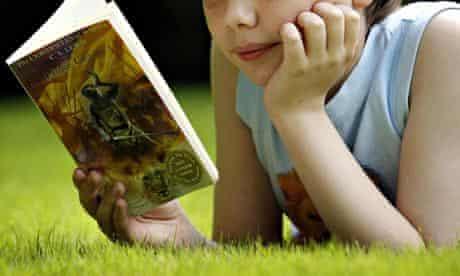 Phonics – child reading book