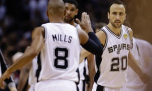 Australia's Patty Mills and Argentina's Manu Ginobili were just two of the international players who made a huge impact during the San Antonio Spurs championship run.