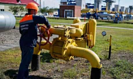 Ukraine gas facility in Striy