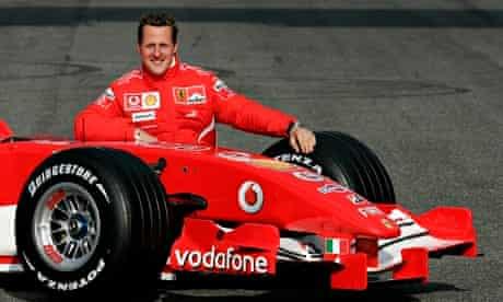 Michael Schumacher in Mugello