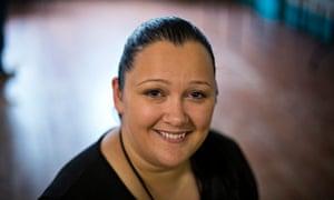 Oksana Straseviciene at the Rosmini Centre in Wisbech