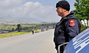 Albanian police hit with grenades during cannabis crackdown