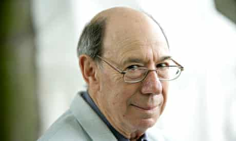 Dan Jacobson at the Edinburgh International Book festival in 2005.