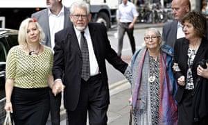 Rolf Harris arrives at court