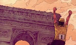 Jan Cleijne's exquisite depiction of the Tour de France.