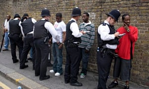 'It's well-established that you're more likely to be stopped and searched by the police if you're bl