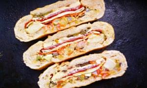 Live Better: Dinner Doctor leftover ham recipes - stuffed deli sandwich