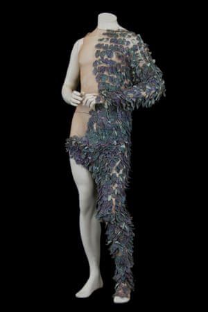 Costume by Dominique Louis for Caliban, worn by Eric Genovese in The Tempest, directed by Daniel Mesguich, Comédie-Française, 1998.