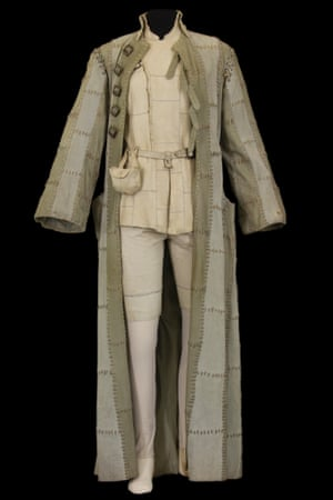 Costume by John Napier for Viola, worn by Ludmilla Mikael in Twelfth Night, directed by Terry Hands, Comédie-Française, 1976.