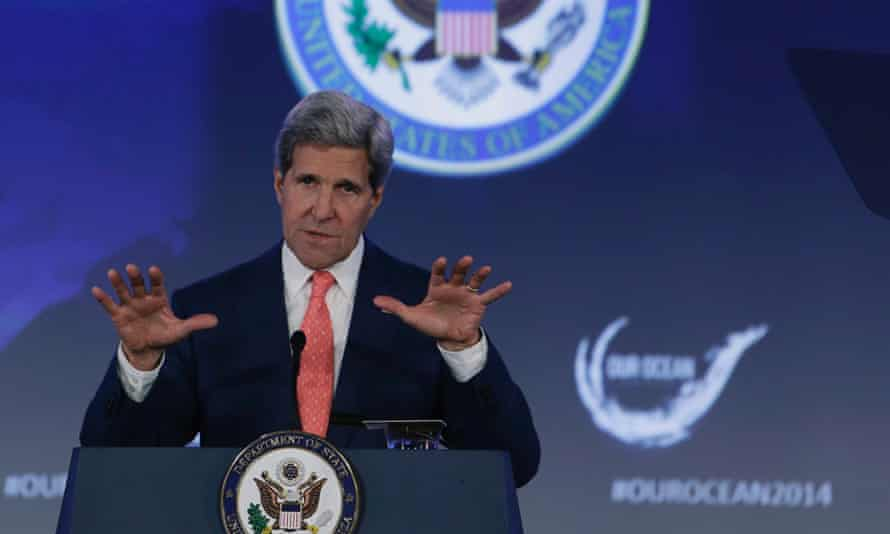 secretary of state john kerry our ocean conference