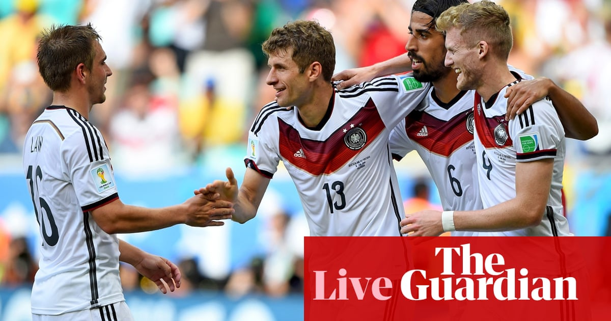 8171453f831 Germany v Portugal  World Cup 2014 – as it happened