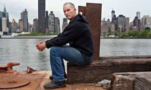 Matthew Barney at his studio in New York