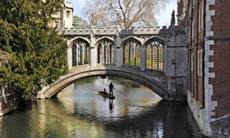 A bridge at Cambridge university