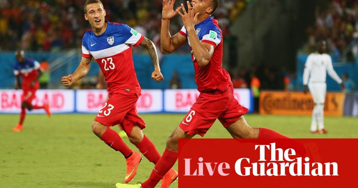 30b0b473a Ghana 1-2 USA  World Cup 2014 – as it happened