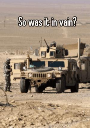 iraq in vain