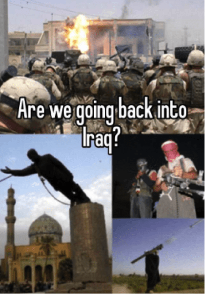 back to iraq war