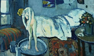 Picasso\'s The Blue Room hides a secret painting | Art and design ...