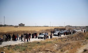 Many Tal Afar residents, ethnic minority Shia Turkmen, fled towards Sinjar, a town in northwestern Iraq, due to the ongoing clashes around Mosul. Militants led by the group Islamic State of Iraq and the Levant, Isis, took control of Tal Afar on Monday.