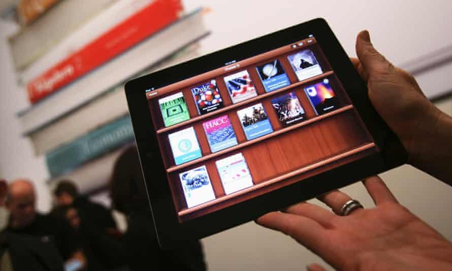 Apple iBooks on iPad