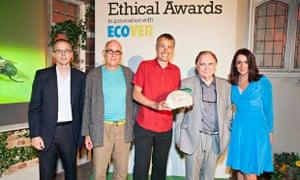 Community Energy Project award goes to Lancaster Cohousing, Observer Ethical Awards 2014