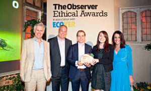 Winners of the Travel award Myths and Mountains and READ Global - Observer Ethical Awards 2014