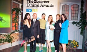 Sustainable Fashion award winners Beyond Skin, Observer Ethical Awards 2014