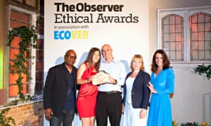 Great Energy Race winner is Tom Yearley, Observer Ethical Awards 2014