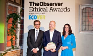 The Lifetime Achievement award goes to Peter Wilcox, Observer Ethical Awards 2014