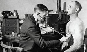 1948. Doctor-patient consultation