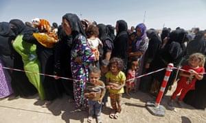 Iraq refugees in Aski Kalak