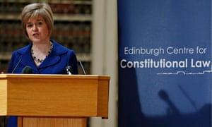 Scottish constitution launch