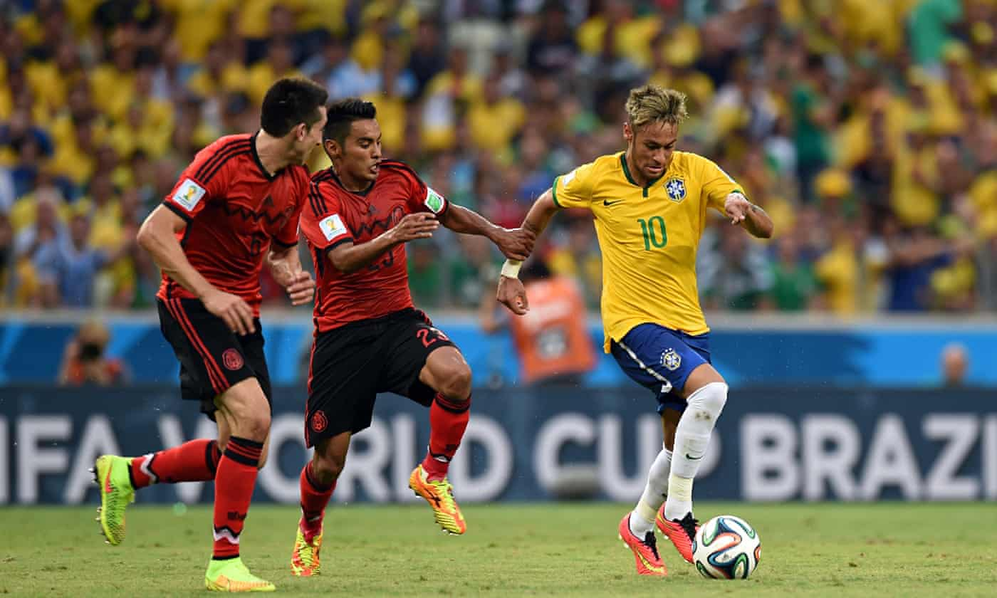 World Cup 2014: Brazil fail to find a way past marvellous Mexico