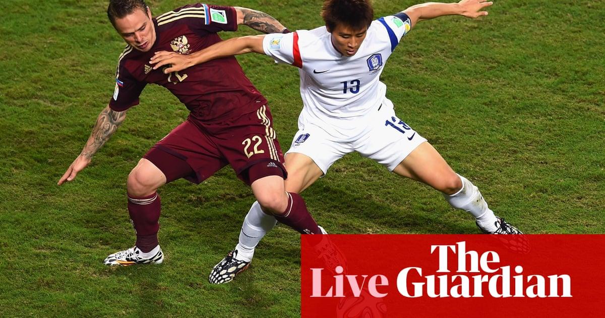 Russia v South Korea  World Cup 2014 – as it happened  6f0da3f004a6