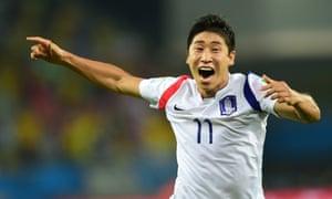 Lee Keun-Ho is well chuffed.