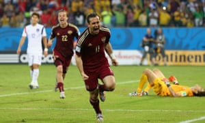Bet down the other end a relieved Akinfeev is celebrating twice as much as Kerzhakov
