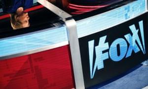The Fox News desk.