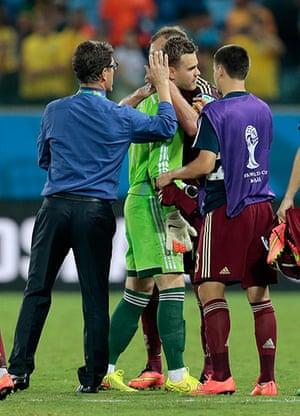 Akinfeevs howlers: Russia's head coach Fabio Capello