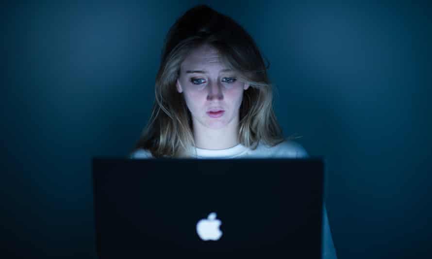 cyber bullying laptop