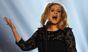 Adele is one of the most prominent indie-signed artists.