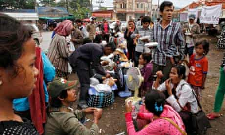 Cambodian migrant workers