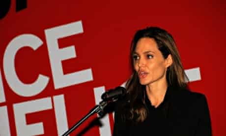 Angelina Jolie. End Sexual Violence in Conflict conference
