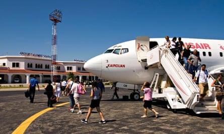 Tabarka airport Tunisia