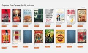 Hachette pre-orders on Apple's iBooks store