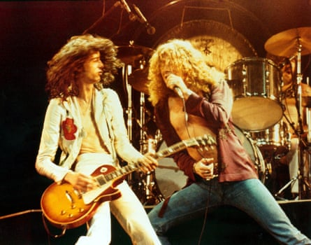 Led Zeppelin - Jimmy Page and Robert Plant, 1976