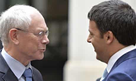 Renzi meets Rumpuy