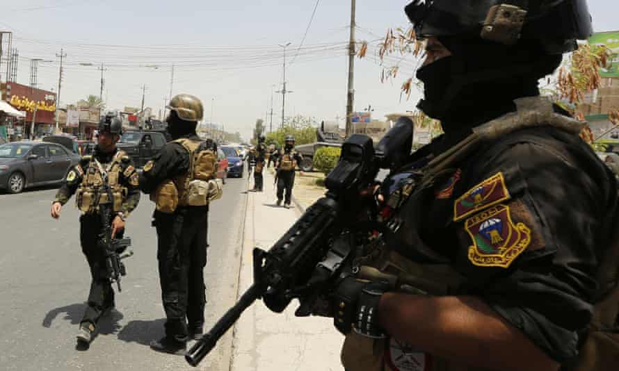Iraqi special forces in Baghdad