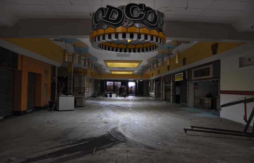 The food court in the North Randall Mall.