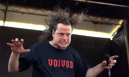 Voivod perform at OzzFest 2003