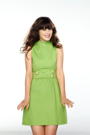 Zooey Deschanel as Jess in New Girl