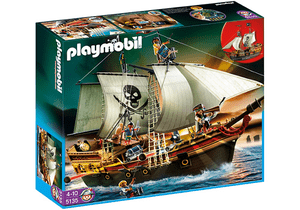 Playmobil's pirate ship